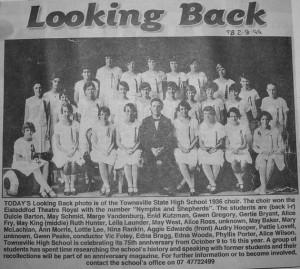 1936 TSH - School Eisteddfod Choir - Theatre Royal sm