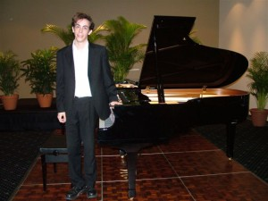 2nd Place – Philip Eames (Piano)