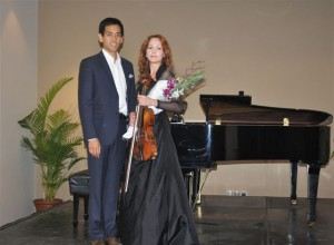 2nd Place – Anna Larionova (Violin)