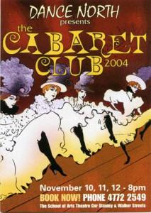 Dance North - The Cabaret Club 2004 - 10,11,12 November The School of Arts smaller