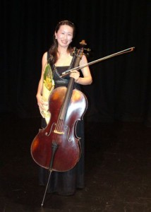 2nd Place – Minah Choe (cello)