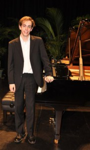 3rd Place – Philip Eames (Piano)