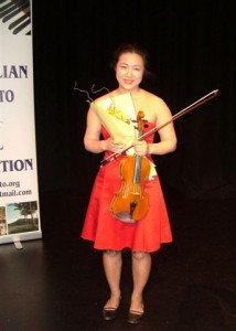 1st Place – Rebecca Chan (Violin)