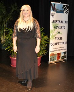 2nd Place – Rebecca Cassidy (Vocal)