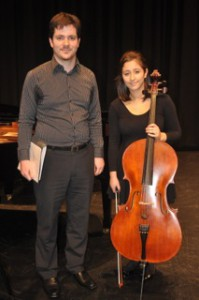 3rd Place – Stephanie Stamopolous With Rhodri Clarke (accompanist)