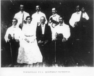The_orchestra_of_the_Townsville_Popular_Variety_Minstrels_1911