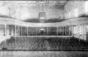 Theatre Royal interior 1905