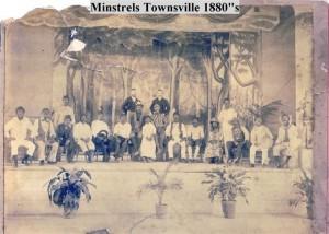 Townsville minstrels 1880s