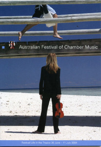 Australian Festival of Chamber Music 30 June to 11 July 2004 - Front of Programme SM