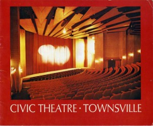 Civic Theatre Book Front cover 1978