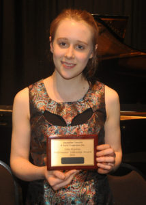 Grace Clifford (Violin-Sydney) 1st place Open Final
