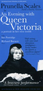 Prunella Scales in An Evening with Queen Victoria - T'ville Civic Theatre 25 11 2004 - Small