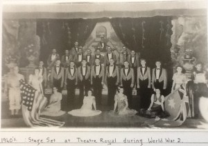 Theatre Royal stage set in 1940's during WW2