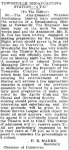 Apollo Club Opening of 4TO concert Mon 5 Oct 1931