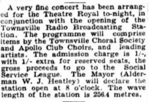 Apollo Club Opening of 4TO concert Mon 5 Oct 1931 2