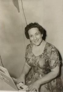 Grace Newman in 1964