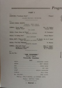 St James Players Fumed Oak Theatre Royal re-opening programme page 2 1961
