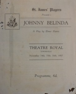 "St James Players ""Johnny Belinda"" programme 1957"