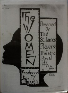 "St James Players ""The Women"" programme 1962"