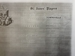 "St James Players ""Trial And Error"" programme 1965"