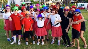 "The Tiny Tappers Townsville group performed at the ""Inclusive Community Event"" at Strand Park Friday 11 September 2015"