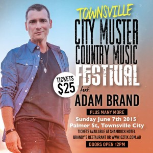 Townsville City Muster poster 2015