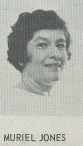 Muriel Jones 1968
